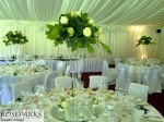 Reception in Marquee