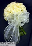 Claire's bridal hand tie