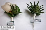 Groom & Best Man Buttonholes