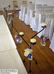Aisle Flowers - Ceremony