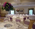 Table Centres - Houston House Hotel