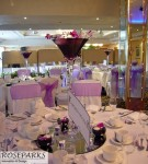 Table Centres - Forth View Suite