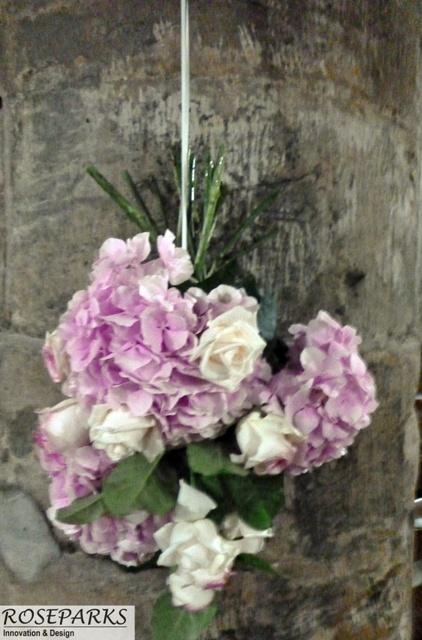 Ceremony - Pillar Flowers