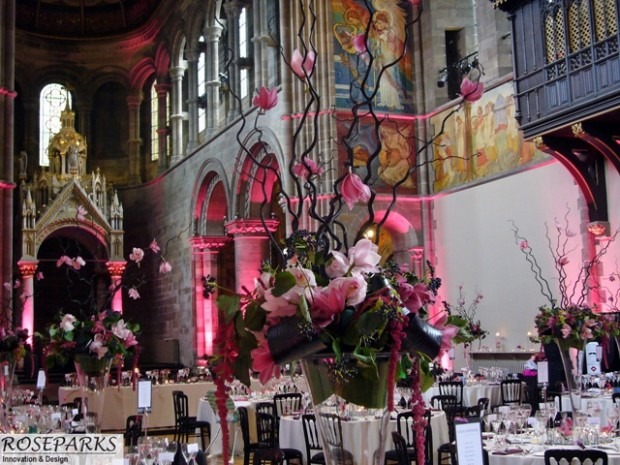 Reception at Mansfield Traquair