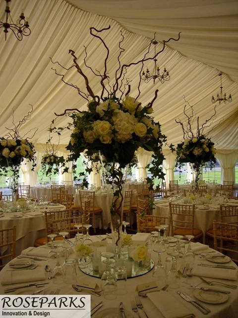 Glencorse Marquee - Table Centres