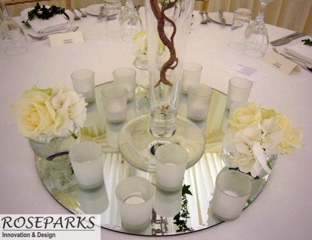 Glencorse Marquee - Table Centres
