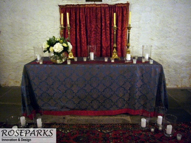 Chapel Candles/Flowers