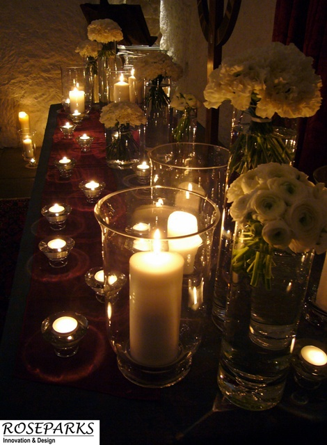 Ceremony Flowers/Candles