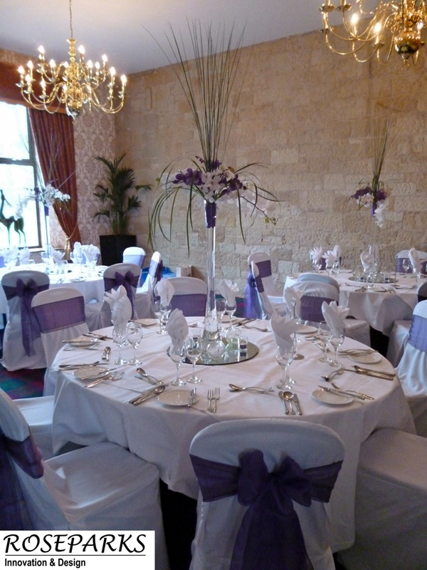 Table Centres - Glenbervie House
