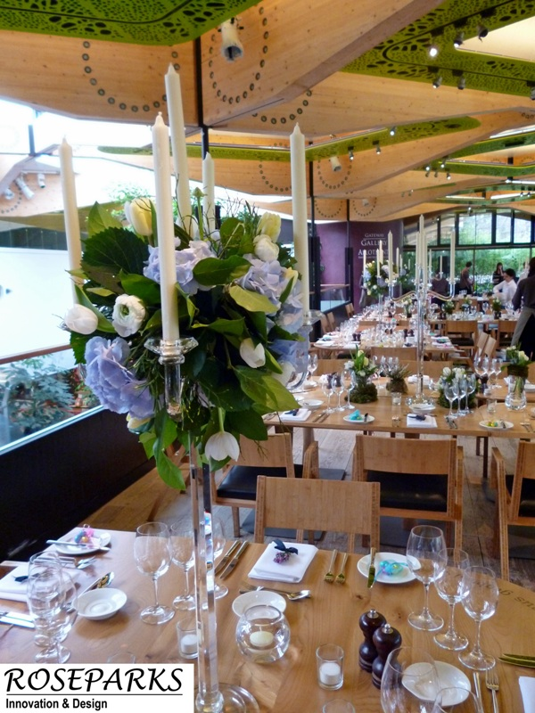 Table Centres - Gateway Restaurant