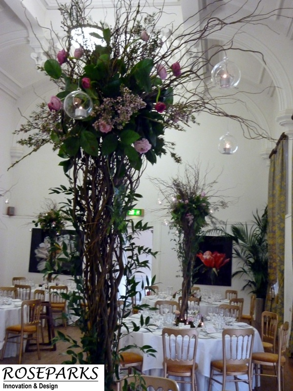 Blossom & Willow Tree - Caledonian Hall