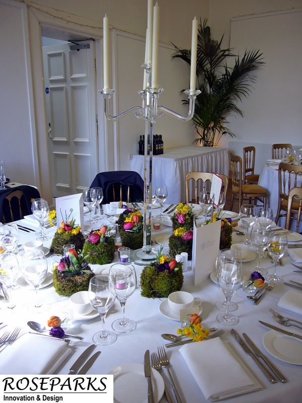 Reception Table Centres