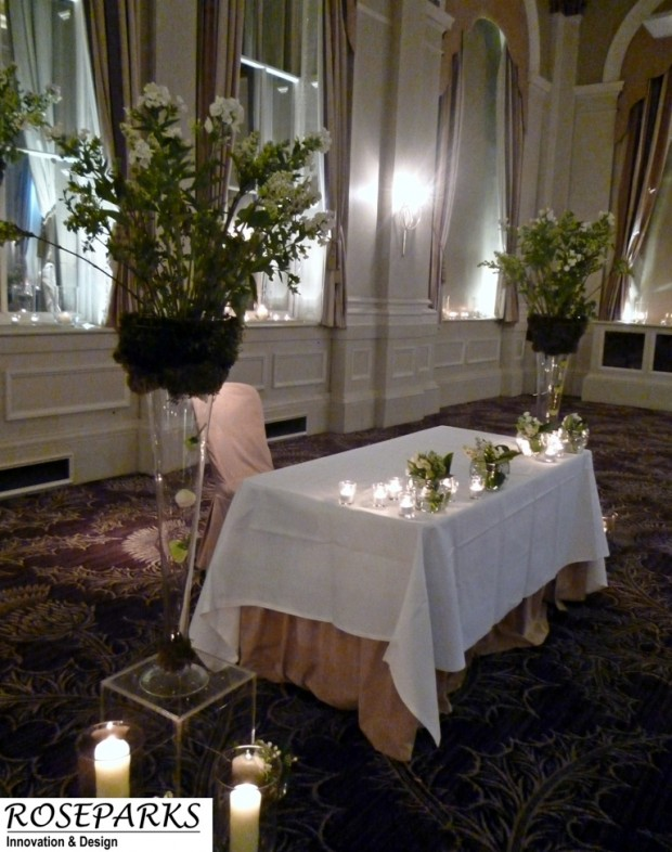 Ceremony - Altar Table