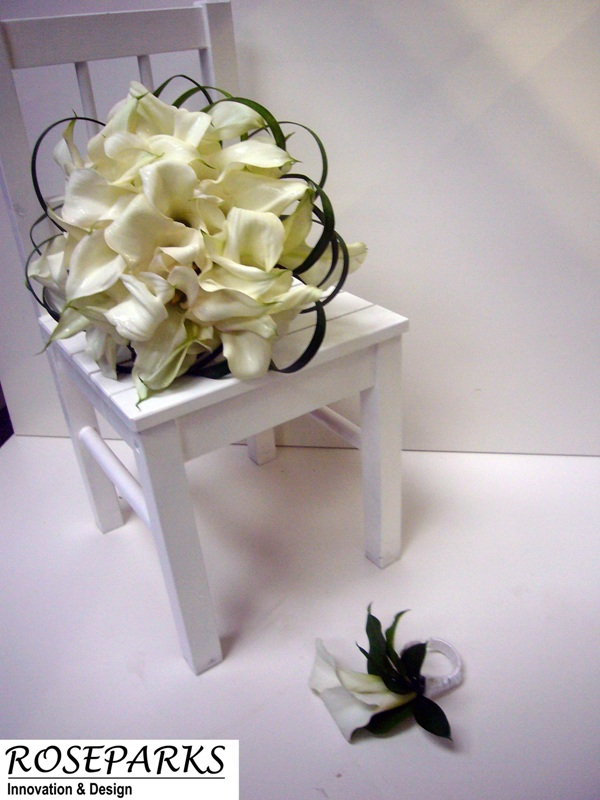 Dawn's Bridal Hand Tie