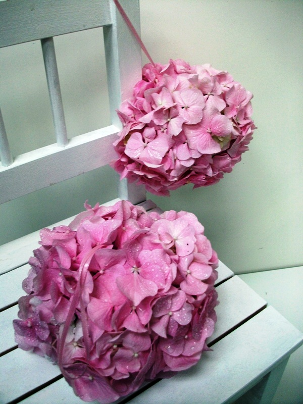 Flowergirl Pomanders