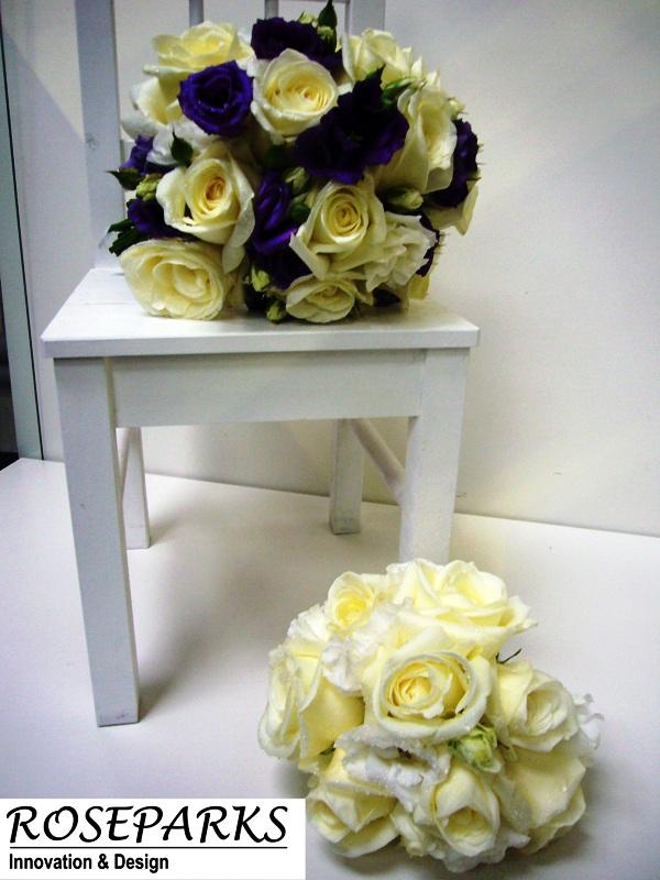 Bride & bridesmaids hand ties
