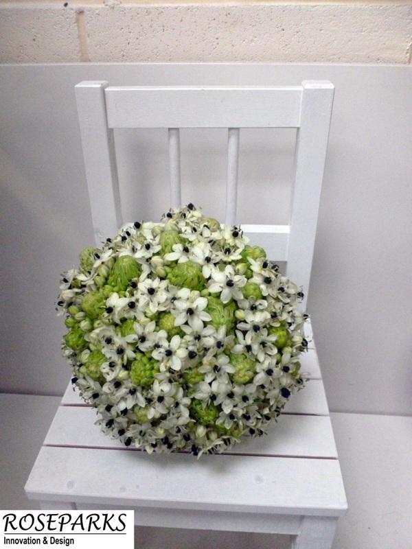 Gemma's bridal hand tie