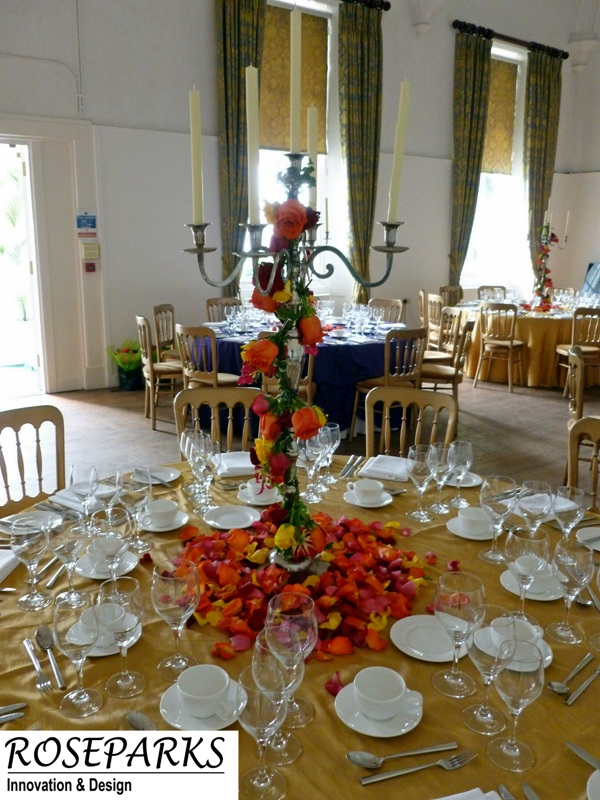 Table Centres - Caledonian Hall