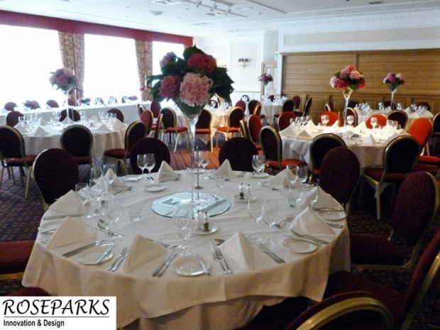 Table Centres - Roxburghe Hotel