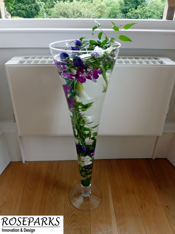 Reception Vases - Linlithgow Burgh Hall