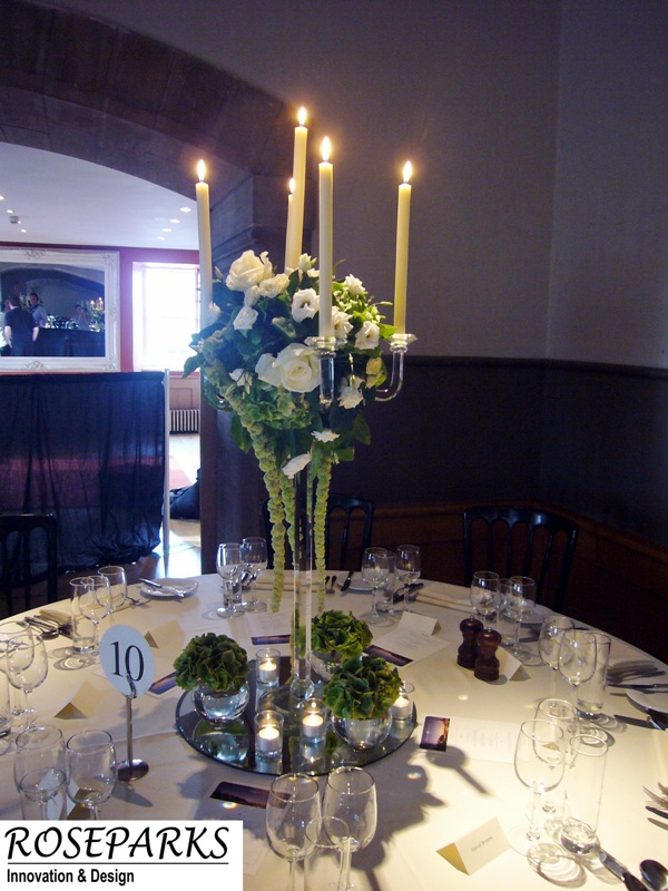 Table Centres - Queen Anne