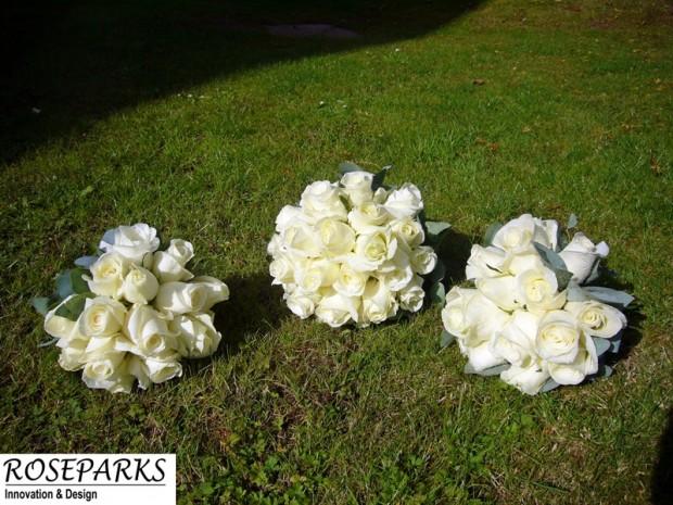 Lisa's bridal hand tie & bridesmaids