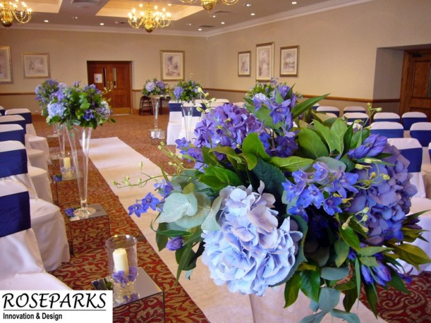 Ceremony & Table Centres - Norton House Hotel