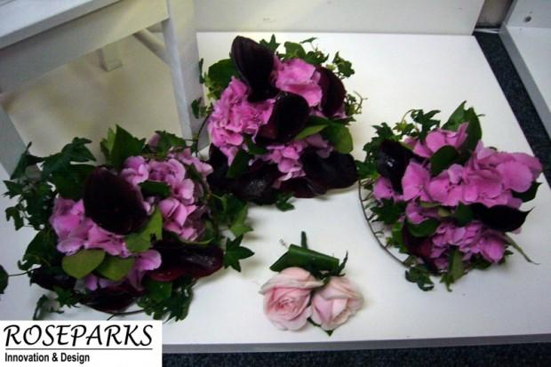 Bridesmaids, Junior B'Maids & Flowergirl hand ties
