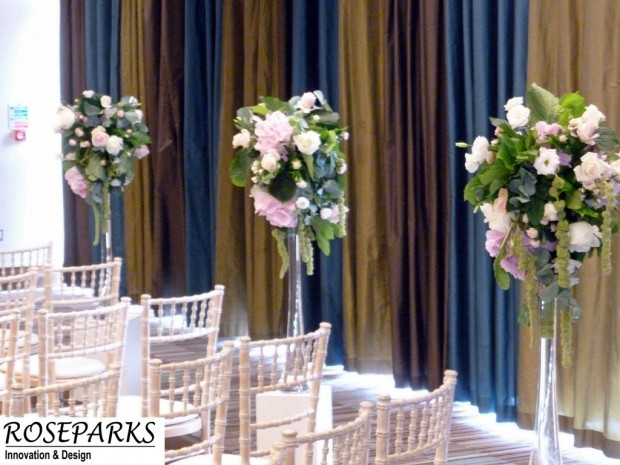 Ceremony & Table Centre arrangements