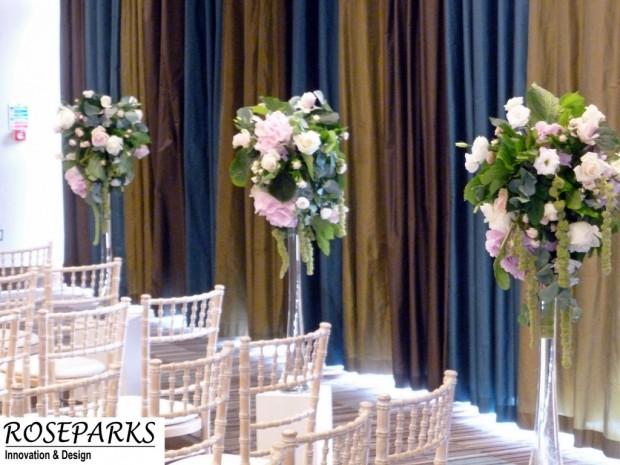 Ceremony & Table Centre arrangements