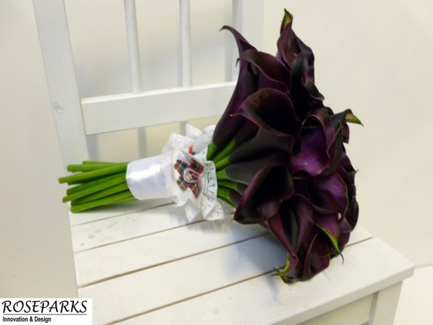 Helen's bridal hand tie