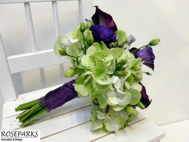Bridesmaids bridal hand tie