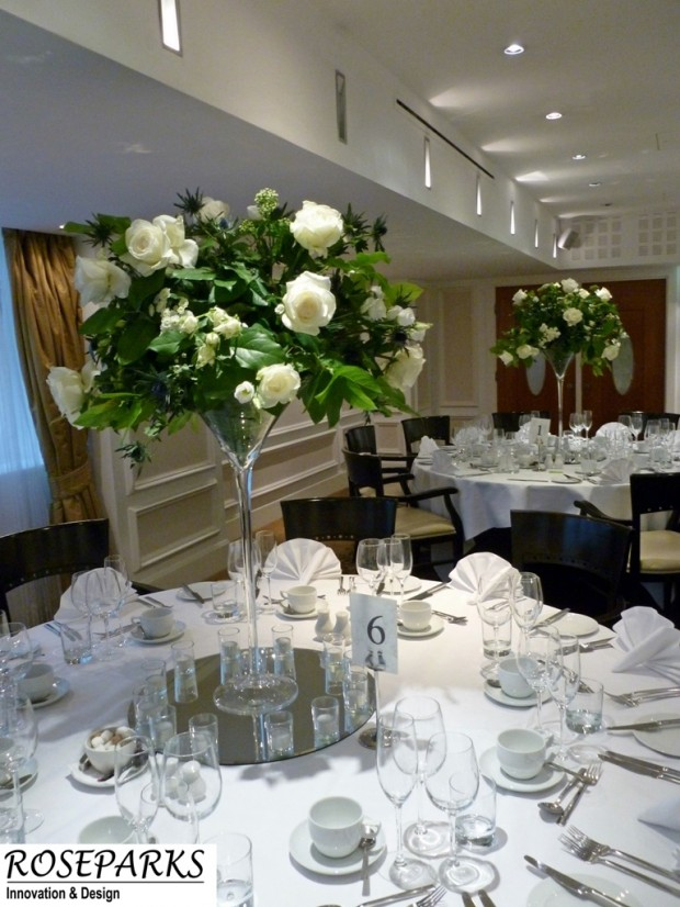Table Centres - Scotsman Hotel