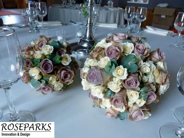 Vicki's bridal hand tie & flowergirl's