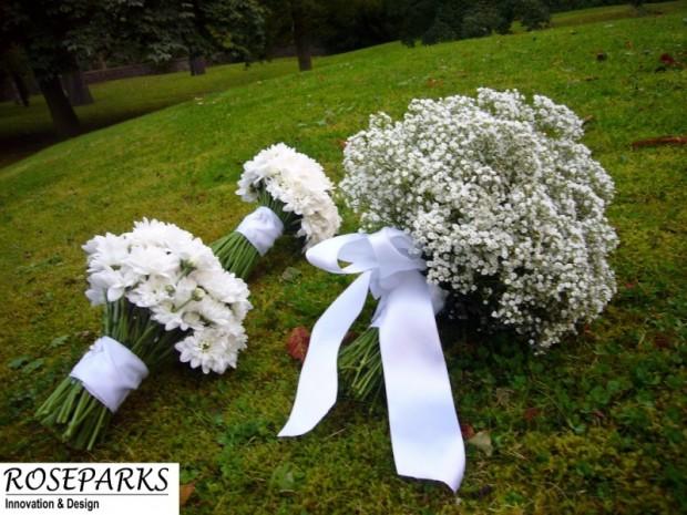 Bride's & Bridesmaids Bridal Flowers