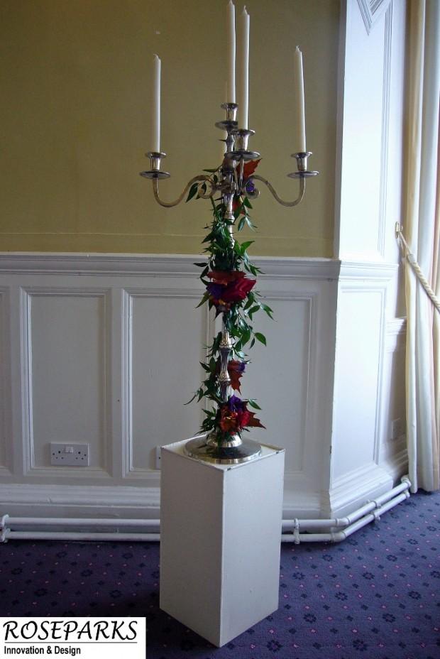 Pedestal Candlestand