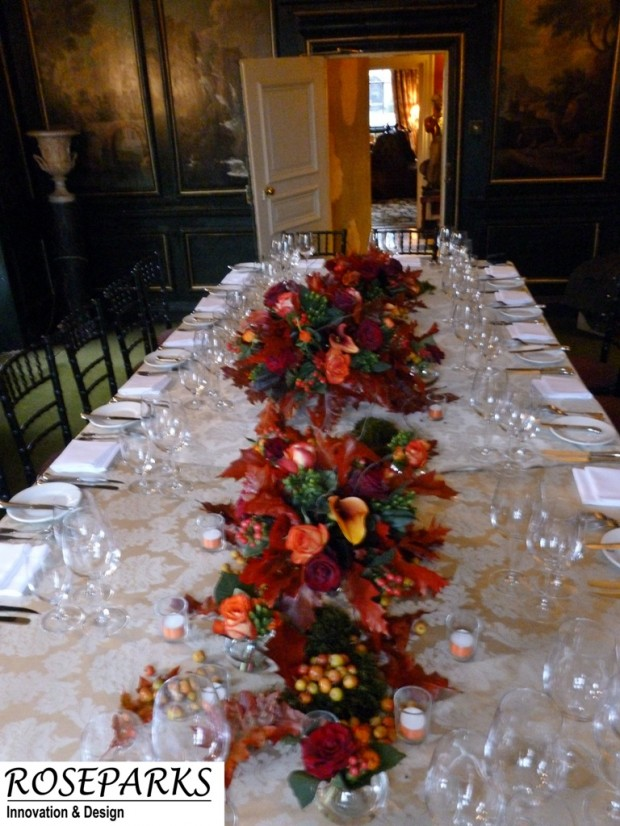 Table-display-Prestonfield-House