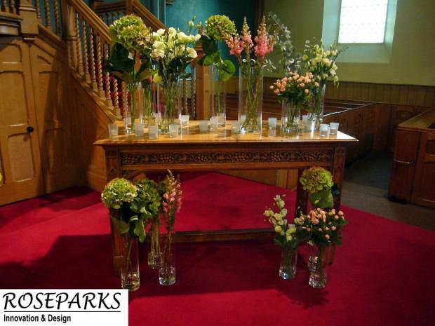 Ceremony at Falkland Parish Church