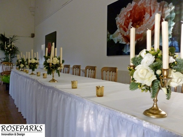 Caledonian Hall - Top Table