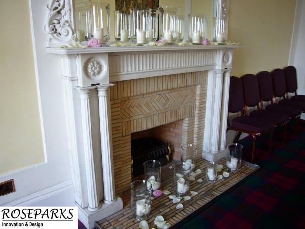 Ceremony-Fireplace