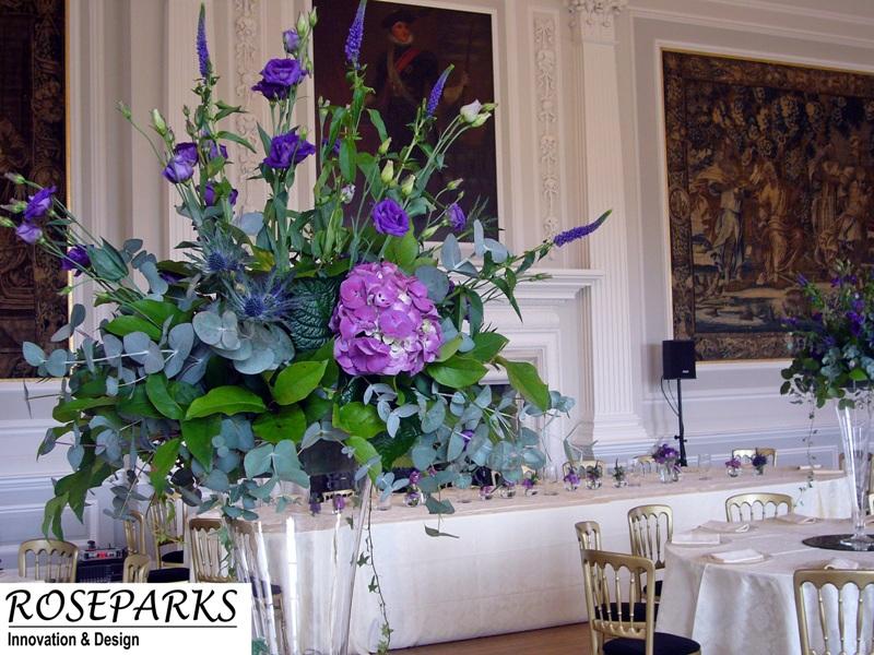 Roseparks - Table Centres - Hopetoun House