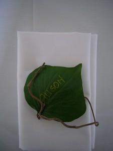 Leaf Napkin
