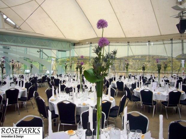 Roseparks-Table Centres-at-Dynamic Earth