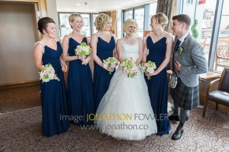Edinburgh George Hotel Wedding Photos - Claire and Craig-1131