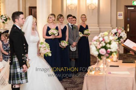 Edinburgh George Hotel Wedding Photos - Claire and Craig-1166