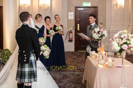 Edinburgh George Hotel Wedding Photos - Claire and Craig-1174