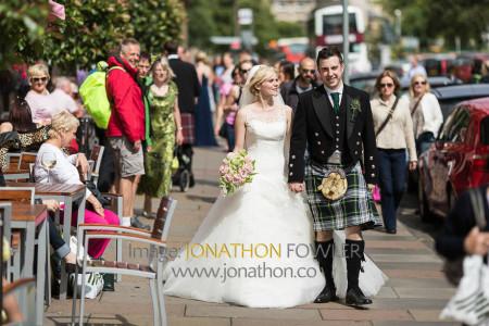 Edinburgh George Hotel Wedding Photos - Claire and Craig-1252