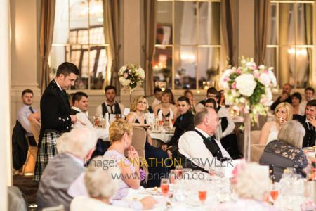 Edinburgh George Hotel Wedding Photos - Claire and Craig-1363